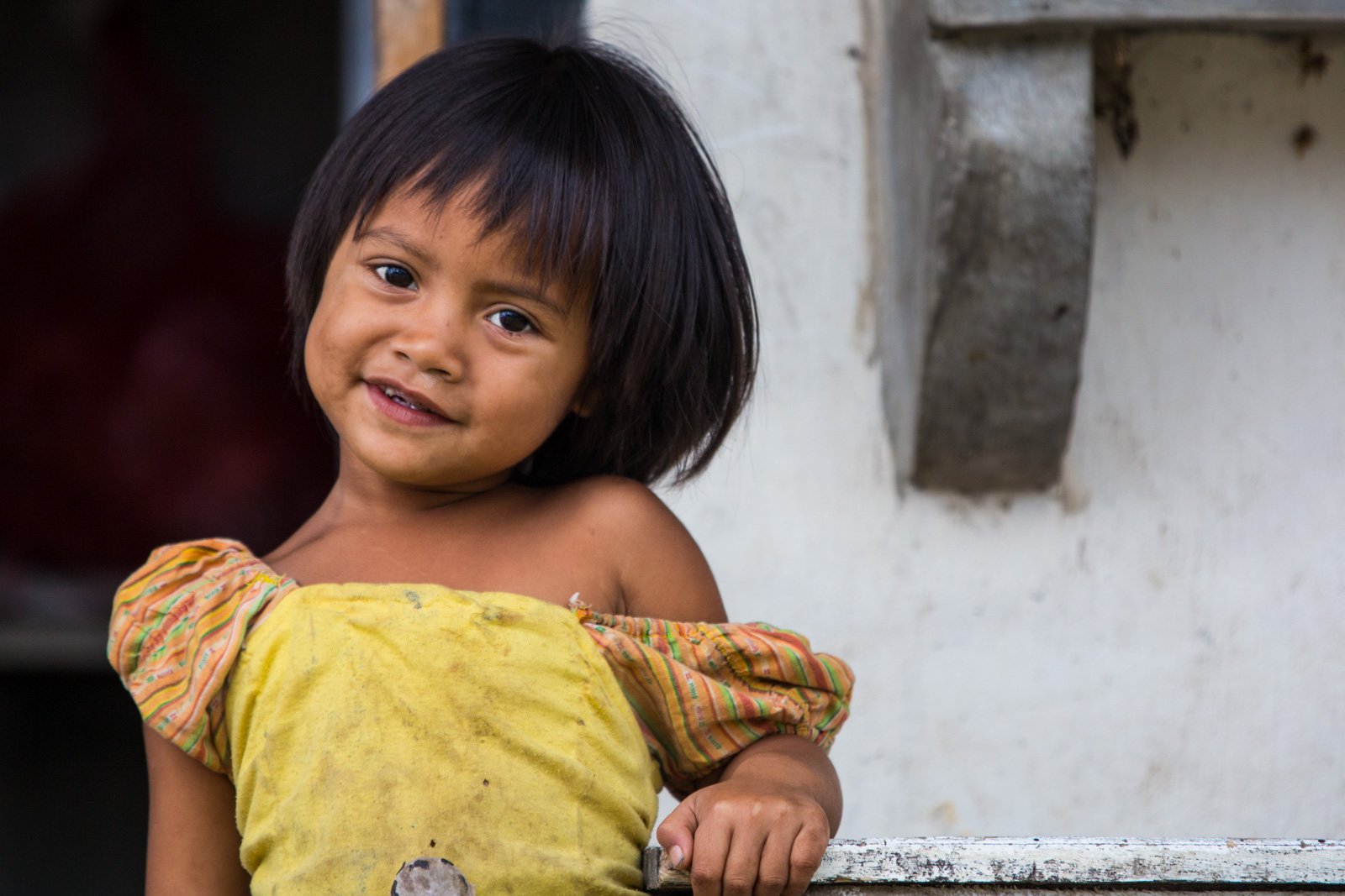 Young girl in Bali