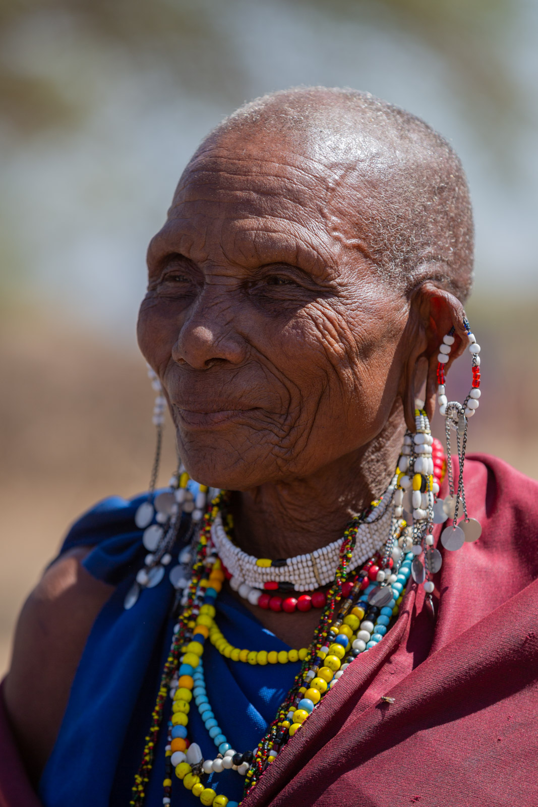 Maasai woman in Tanzania